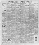 Portland Daily Press: January 21, 1898