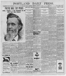 Portland Daily Press: January 22, 1898