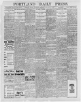 Portland Daily Press: January 26, 1898