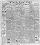 Portland Daily Press: January 31, 1898