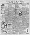 Portland Daily Press: February 9, 1898