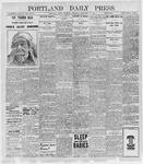 Portland Daily Press: February 10, 1898