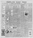 Portland Daily Press: February 11, 1898