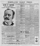 Portland Daily Press: February 12, 1898