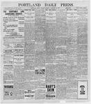 Portland Daily Press: February 22, 1898