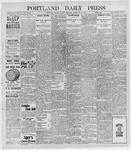 Portland Daily Press: February 25, 1898