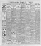 Portland Daily Press: March 2, 1898