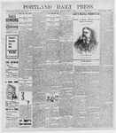 Portland Daily Press: March 7, 1898