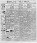 Portland Daily Press: March 9, 1898