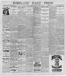 Portland Daily Press: March 10, 1898