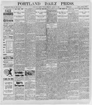 Portland Daily Press: March 11, 1898