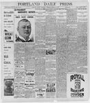 Portland Daily Press: March 12, 1898