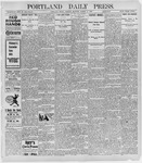 Portland Daily Press: March 14, 1898
