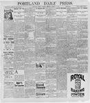 Portland Daily Press: March 15, 1898