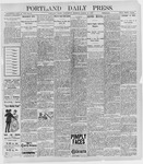 Portland Daily Press: March 16, 1898
