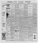 Portland Daily Press: March 18, 1898