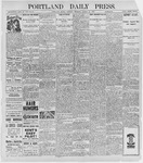 Portland Daily Press: March 22, 1898