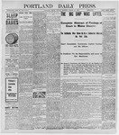 Portland Daily Press: March 28, 1898