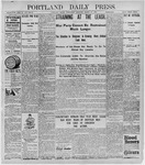 Portland Daily Press: March 30, 1898