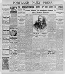 Portland Daily Press: April 8, 1898