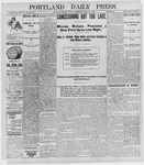 Portland Daily Press: April 11, 1898