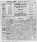 Portland Daily Press: April 13, 1898