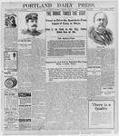 Portland Daily Press: April 14, 1898