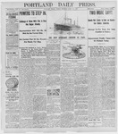 Portland Daily Press: April 15, 1898