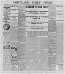 Portland Daily Press: April 20, 1898