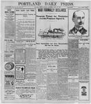 Portland Daily Press: April 26, 1898