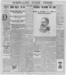 Portland Daily Press: May 4, 1898