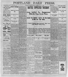 Portland Daily Press: May 9, 1898