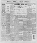 Portland Daily Press: May 11, 1898