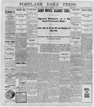 Portland Daily Press: May 12, 1898