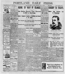 Portland Daily Press: May 28, 1898
