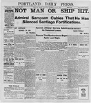Portland Daily Press: June 8, 1898