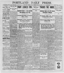 Portland Daily Press: June 10, 1898