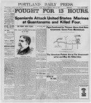 Portland Daily Press: June 13, 1898