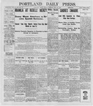 Portland Daily Press: June 20, 1898