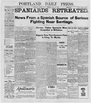 Portland Daily Press: June 24, 1898