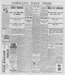 Portland Daily Press: July 14, 1898