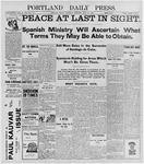 Portland Daily Press: July 16, 1898