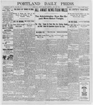 Portland Daily Press: July 25, 1898