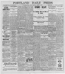 Portland Daily Press: August 5, 1898