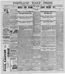 Portland Daily Press: August 6, 1898