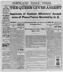 Portland Daily Press: August 8, 1898