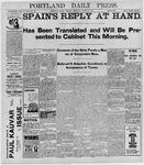 Portland Daily Press: August 9, 1898