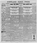 Portland Daily Press: August 15, 1898