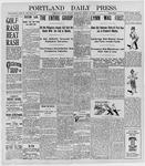Portland Daily Press: August 19, 1898