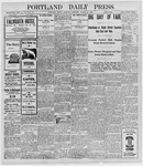 Portland Daily Press: August 25, 1898